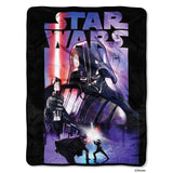 Lucas Films Star Wars Darth Night Micro Raschel Throw-by The Northwest Compan... - Chickadee Solutions