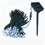 Solar Outdoor Garden String Lights Loende Waterproof 72ft 200 LED 8 Mode Whit... - Chickadee Solutions - 1
