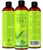 Aloe Vera GEL - 99% Organic 12 oz - NO XANTHAN so it Absorbs Rapidly with No... - Chickadee Solutions - 1