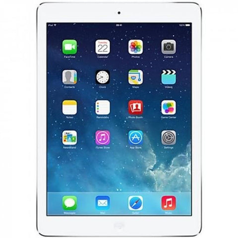 Apple iPad Air A1474 (32 GB Wi-Fi White with Silver) (Certified Refurbished) - Chickadee Solutions
