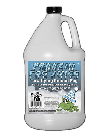 Freezin Fog Outdoor Low Lying Ground Fog Juice Machine Fluid - 1 Gallon - Th... - Chickadee Solutions - 1