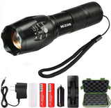 Mizoo LED Flashlight Torch Adjustable Focus Zoomable Mini Generic Super Brig... - Chickadee Solutions - 1