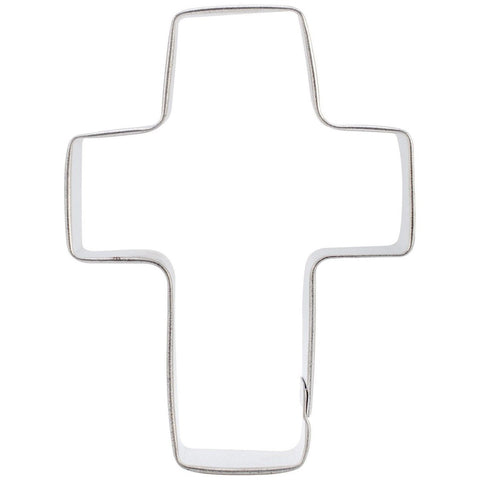 Wilton 2308-1018 Metal Cookie Cutter Easter Cross - Chickadee Solutions - 1