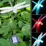 Holidayli Solar Powered Dragonfly Garden Stake Light with Color Changing LEDs... - Chickadee Solutions - 1