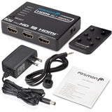 Fosmon HD8062 [Supports 4K Full HD1080p 3D] Intelligent 5-Port HDMI Switch | ... - Chickadee Solutions - 1
