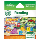 LeapFrog Letter Factory Learning Game (works with LeapPad Tablets and Leapste... - Chickadee Solutions - 1