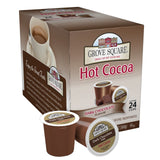 Grove Square Hot Cocoa Dark Chocolate 24 Single Serve Cups 24 Count - Chickadee Solutions - 1