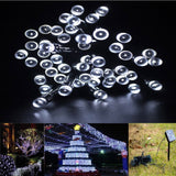 ELlight 12m 39ft 100LED Solar Lights Waterproof 8 Modes Fairy String Lights P... - Chickadee Solutions - 1