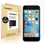 [2 Pack] iVoler for iPhone 6 / 6S [3D Touch Compatible - Tempered Glass] Scre... - Chickadee Solutions - 1