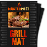 BBQ Grill Mat - Set of 2 PFOA Free Heavy Duty Nonstick BBQ Grilling Sheets - ... - Chickadee Solutions - 1