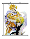 MiracleL Nanatsu no Taizai Cartoon Anime Cosplay Fabric Wall Scroll Poster 20... - Chickadee Solutions