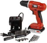 Black & Decker LD120VA 20-Volt MAX Lithium-Ion Drill/Driver with 30 Accessories - Chickadee Solutions - 1
