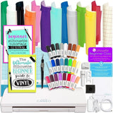 Silhouette Cameo 3 Bluetooth Bundle with Oracal 651 Vinyl 24 Sketch Pens Guid... - Chickadee Solutions - 1