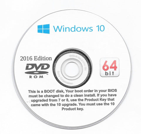 Windows 10 HOME 32 and 64 Bit. Re install or a Clean Install on your upgrade!... - Chickadee Solutions