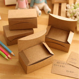 Schoolsupply 100 pcs Postcard small card paper kraft paper Postcard word card... - Chickadee Solutions - 1
