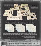 Dry Erase 10 inch Dungeon Tiles - Pack of 9 - Chickadee Solutions - 1