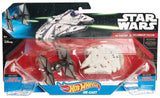Hot Wheels Star Wars: The Force Awakens First Order TIE Fighter vs. Millenniu... - Chickadee Solutions - 1