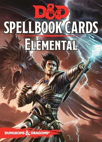 Dungeons & Dragons - Spellbook Cards - Elemental Evil - Chickadee Solutions