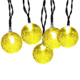 Solar Outdoor String Lights iDOO 20ft 30 LED Crystal Ball Pattern Fairy Solar... - Chickadee Solutions - 1