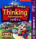 Reader Rabbit Thinking Adventures Ages 4-6 - Chickadee Solutions - 1