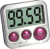 eT's Elegant Digital Kitchen Timer Model eT-24 (Plum) Stainless Steel Strong ... - Chickadee Solutions - 1