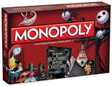 Monopoly Tim Burton's The Nightmare Before Christmas Board Game - Chickadee Solutions - 1