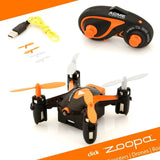 Zoopa Q 55 Zepto - 6-Axis Gyro RC Mini Quadcopter Drone | 2.4GHz | 360 flip-m... - Chickadee Solutions - 1