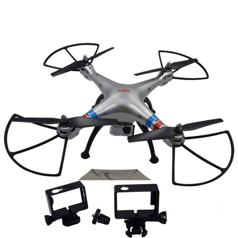 Blomiky SYMA X8G 5.0MP 1080P Camera Headless 2.4G 4 Channel Remote Control Qu... - Chickadee Solutions - 1