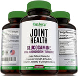 Glucosamine with Chondroitin MSM Turmeric Curcumin and Boswellia. Restores & ... - Chickadee Solutions - 1