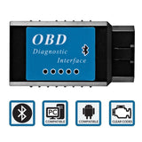 Goliath Industry OBDII OBD2 Bluetooth Auto Diagnostic Scanner Tool - Engine L... - Chickadee Solutions