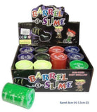 Barrel-o-slime 5 Oz 12 Pcs Boxed Assorted Colors by le-neon favors - Chickadee Solutions