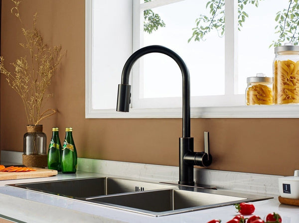Kitchen Faucet No Brand Name Single Handle Pull Down