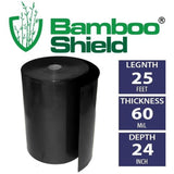 Bamboo Shield- 25 foot long x 24 inch x 60 mil bamboo root barrier/water barr... - Chickadee Solutions - 1