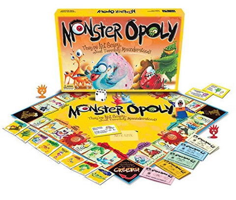 Monster-opoly - Chickadee Solutions