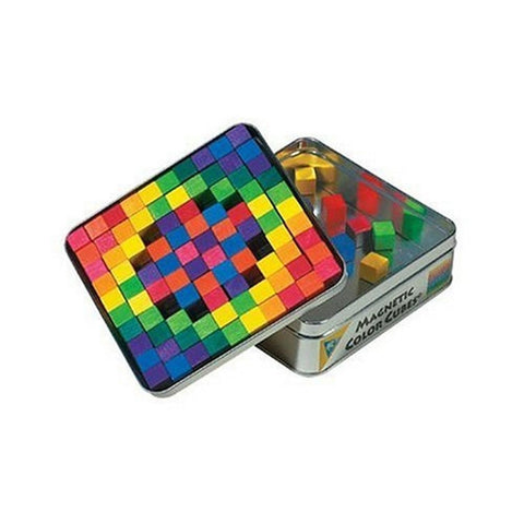 Magnetic Color Cubes - Set of 100 - Chickadee Solutions - 1