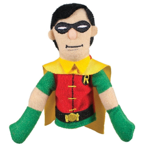 DC Comics Robin Finger Puppet and Refrigerator Magnet - By The Unemployed Phi... - Chickadee Solutions - 1