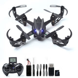 RC Drone with 2MP HD Camera RC Quadcopter 4CH 6-Axis Gyroscope 2.4 GHz Remote... - Chickadee Solutions - 1