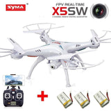 Syma X5SW with Extra 2pcs 2000mAh Battery 4CH 2.4G 6-Axis Gyro Headless Remot... - Chickadee Solutions - 1