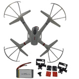 MJX X101 2.4GHz 6 Axis Gyro Large Size RC Helicopter Quadcopter Extra 1 Batte... - Chickadee Solutions - 1