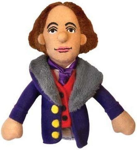 Oscar Wilde Finger Puppet and Refrigerator Magnet - By The Unemployed Philoso... - Chickadee Solutions