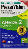 PreserVision AREDS 2 Vitamin & Mineral Supplement 120 Count Soft Gels - Chickadee Solutions - 1