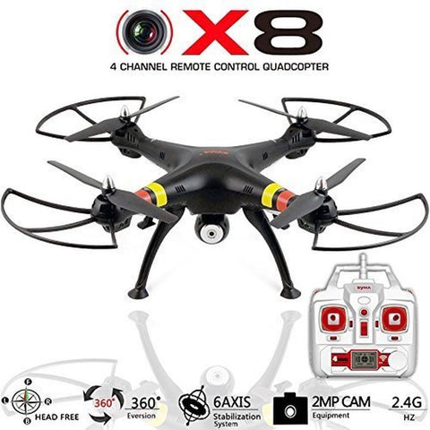 Quadcopter Drone with Camera X8C Venture - Best Drones RC Helicopter for sale... - Chickadee Solutions - 1
