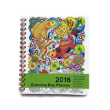 Action Publishing 2016 Coloring Day Planner Medium 2016 Medium - Chickadee Solutions - 1