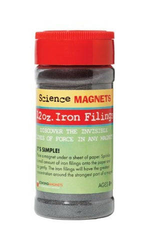 Dowling Magnets Iron Filings 12 oz. - Chickadee Solutions - 1