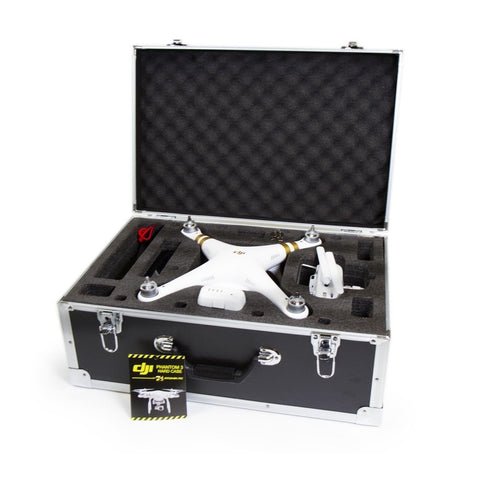 DJI Phantom 3 Professional/Advanced/Standard/4K RTF RC Drone Hard Box Carryin... - Chickadee Solutions