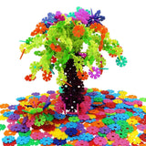 Magtimes Educational Toys Brain Flakes 500 Piece Interlocking Plastic Disc Se... - Chickadee Solutions - 1