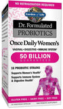 Garden Of Life Dr. Formulated Probiotics Once Daily Women's 30 Count - Chickadee Solutions - 1
