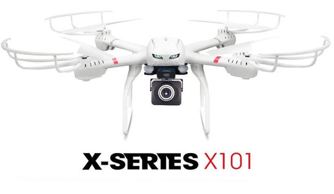 MJX X101 2.4 Ghz RC Drone 6 Axis Gyro Supper Large Quadcopter UAV With Gimbal... - Chickadee Solutions - 1