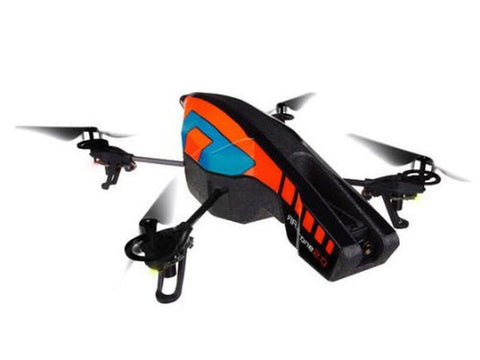 Parrot AR Drone Quadricopter 2.0 Edition Orange/Blue Standard Packaging - Chickadee Solutions - 1
