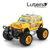 Lutema Cosmic Rocket 4CH Remote Control Truck Yellow - Chickadee Solutions - 1